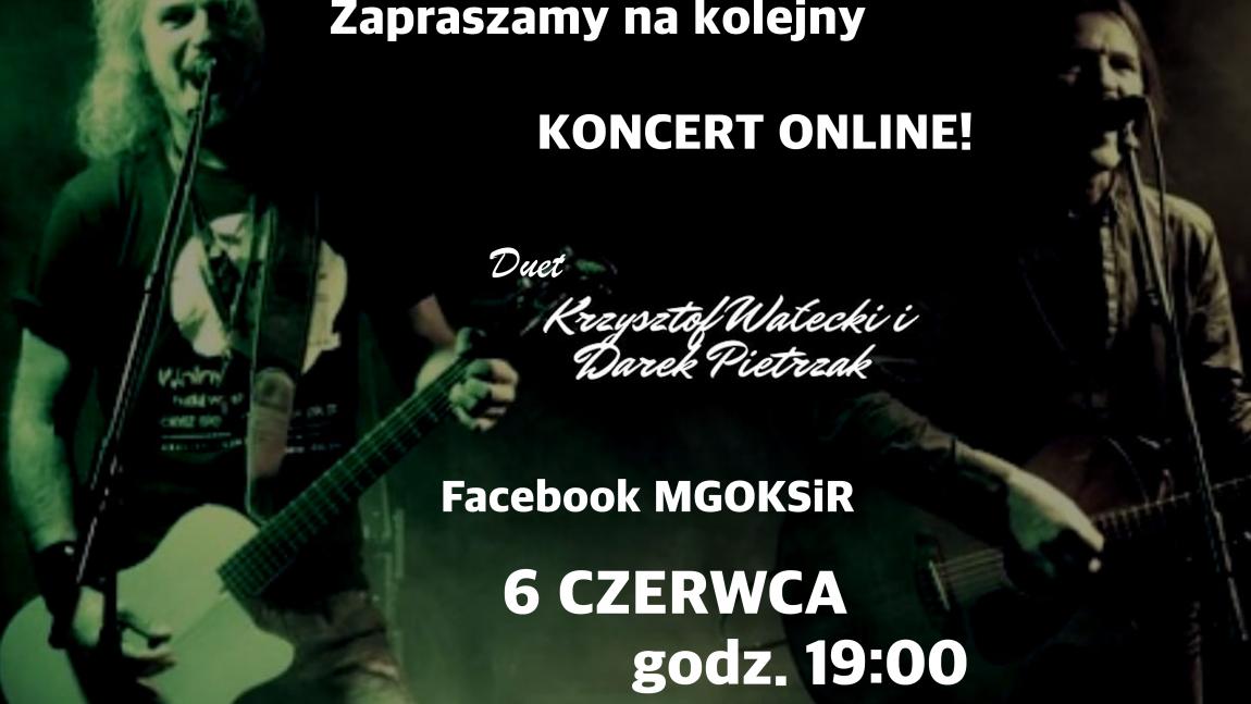 Krzysztof Wałecki i Darek Pietrzak zagrają on-line.